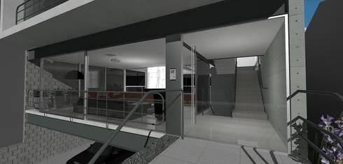 casa brj: Escritórios  por grupo pr | arquitetura e design
