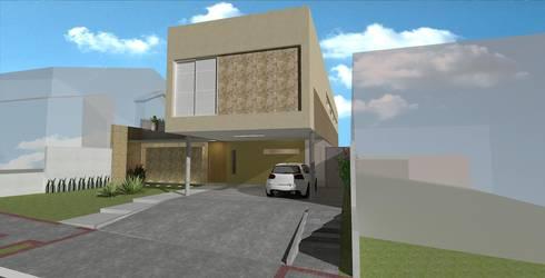 casa bs: Casas modernas por grupo pr   arquitetura e design