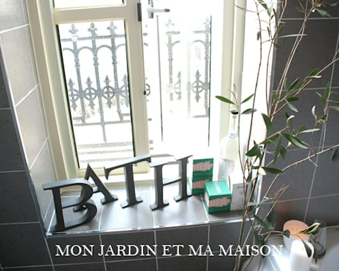 mon jardin et ma maison bathroom homify. Black Bedroom Furniture Sets. Home Design Ideas