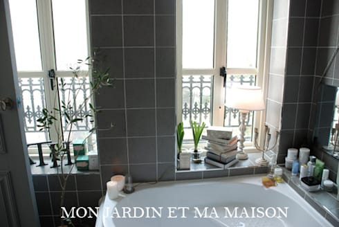 bathroom de mon jardin et ma maison homify. Black Bedroom Furniture Sets. Home Design Ideas