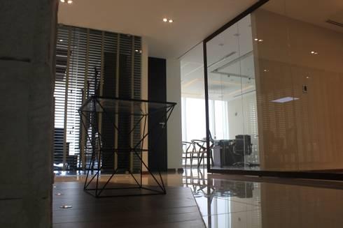 Materiales: Estudios y oficinas de estilo moderno por LC Arquitectura