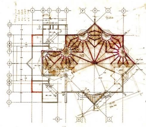 Estructura en planta:  de estilo  por InSitu