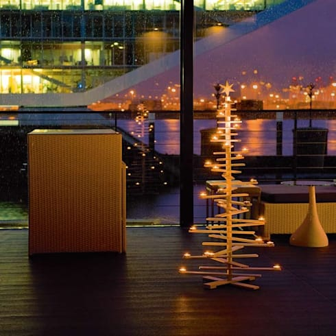 weihnachtsdeko modern interpretiert von found4you homify. Black Bedroom Furniture Sets. Home Design Ideas