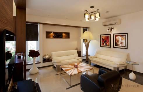 Residential: modern Living room by Prabu Shankar Photography