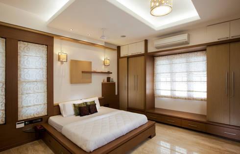 Residential: modern Bedroom by Prabu Shankar Photography