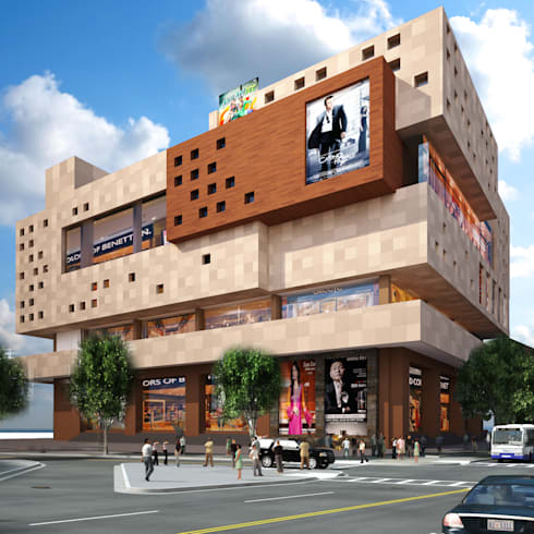 mall:  Shopping Centres by 9architects
