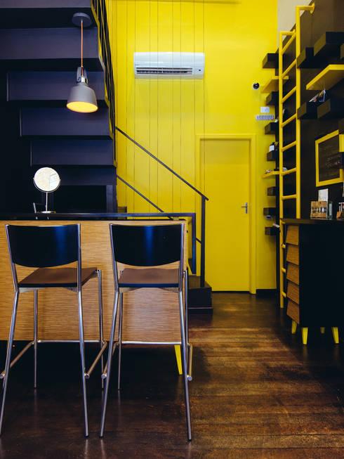 Eric Gozlan Lunettes: Espaços comerciais  por iS arquitetura