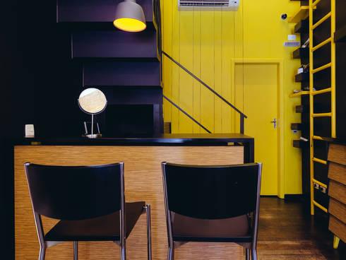 Eric Gozlan Lunettes: Lojas e imóveis comerciais  por iS arquitetura