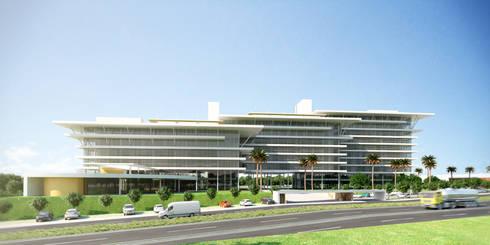 MPPB: Casas modernas por Martins Lucena Arquitetos