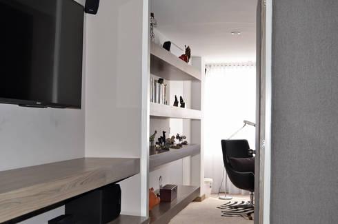 APARTAMENTO 97: Habitaciones de estilo ecléctico por santiago dussan architecture & Interior design
