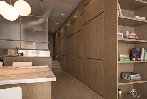 Apartamento Rubiano: Ventanas de estilo  por MEMA Arquitectos