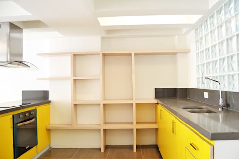 APARTAMENTO 62: Cocinas de estilo ecléctico por santiago dussan architecture & Interior design