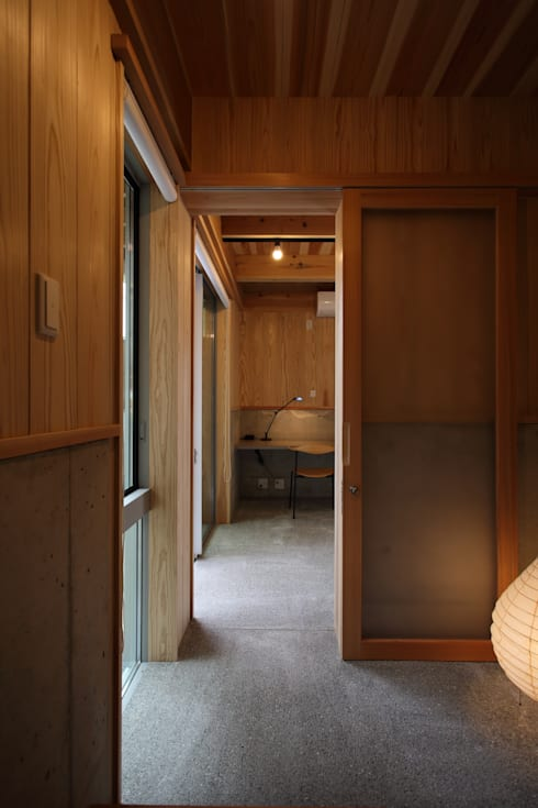 笹ケ根1308SA: TOGODESIGNが手掛けた書斎です。