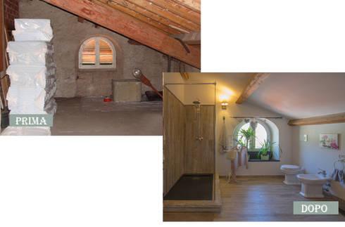 BAGNO:  in stile  di Ispirazioni d'interni Arch. Simonetta Spadelli