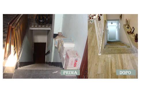 SCALA:  in stile  di Ispirazioni d'interni Arch. Simonetta Spadelli