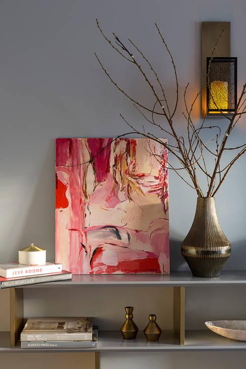 eclectic Living room تنفيذ  Ekaterina Kozlova