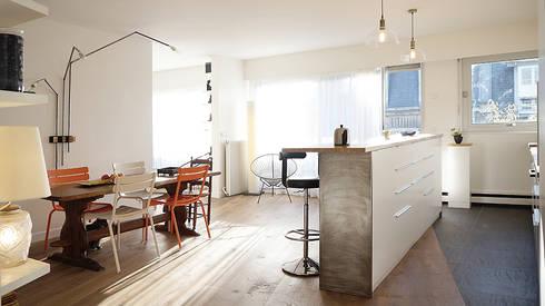 sur le pont de bardin architecte homify. Black Bedroom Furniture Sets. Home Design Ideas