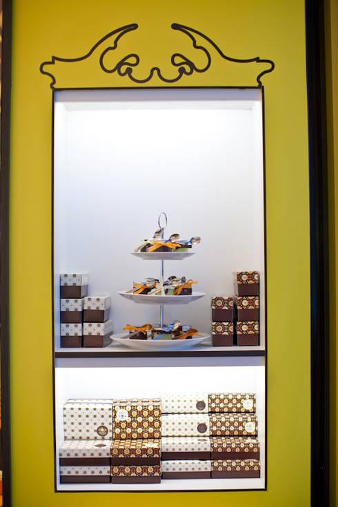 Sweet Joy Brigaderia: Espaços gastronômicos  por iS arquitetura