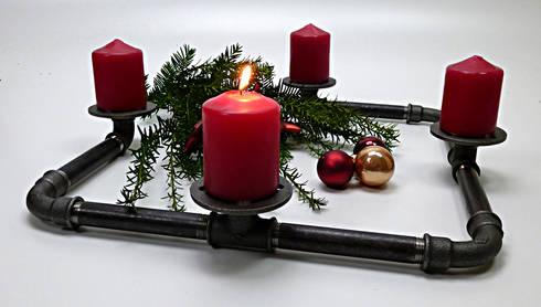 weihnachten mal anders im industrial design von iltubo. Black Bedroom Furniture Sets. Home Design Ideas