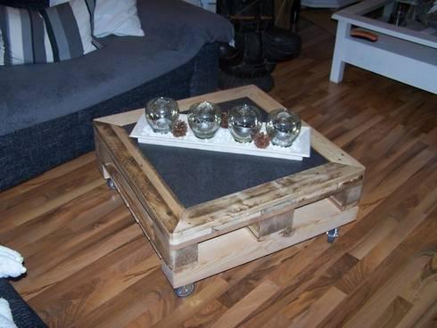 Möbel aus Recyclingholz,alten Paletten und Bauholz von Waldeck ...