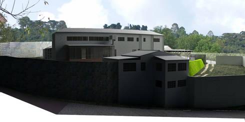 -Vivienda - Casa Arzobispal - Esquema remodelación  - Manizales - Barrio La Francia:  de estilo  por Santiago Zuluaga Arroyave