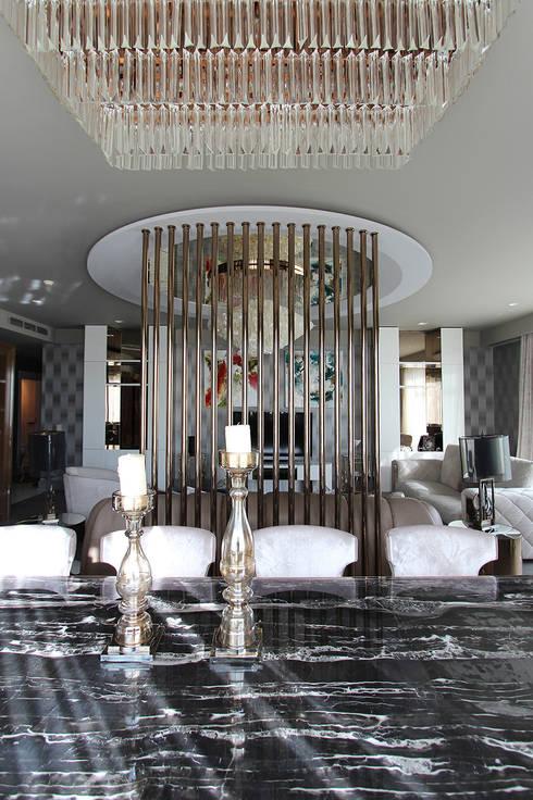 Livings de estilo  por Orkun İndere Interiors