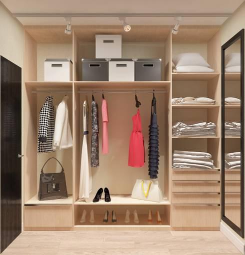 Closets de estilo moderno por Катя Волкова