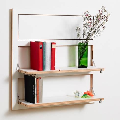 regale mehr als reine ablagefl chen von found4you homify. Black Bedroom Furniture Sets. Home Design Ideas