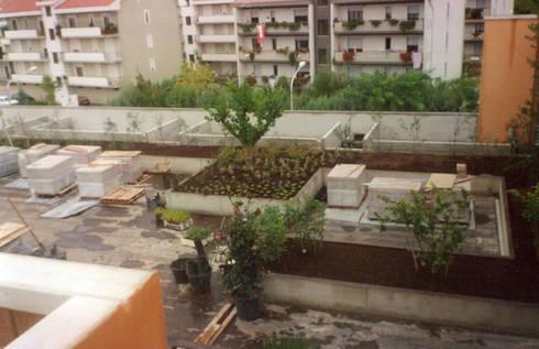 Giardino pensile Optima Giardini pensili per edificio commerciale di ...