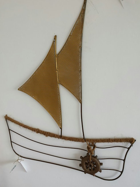 Sail Boat:  Artwork by Designmint