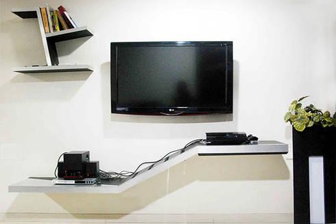 Subtle Harmony: modern Living room by Sneha Samtani I Interior Design.