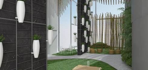 3D render: modern Garden by jyotsnarawool