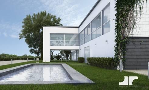 3D render: modern Conservatory by jyotsnarawool