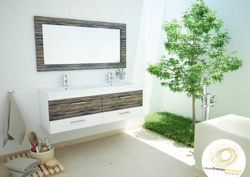 Projecto WC:   por Andreia Louraço - Designer de Interiores (Contacto: atelier.andreialouraco@gmail.com)