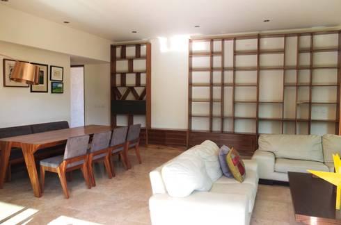 Proyecto Casa Cañadas. : Comedores de estilo minimalista por Tigra