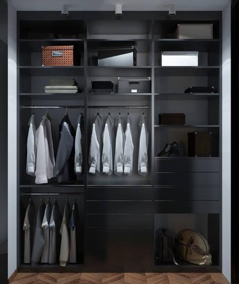 industrial Dressing room by Катя Волкова