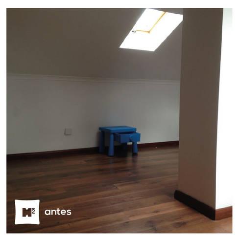 O quarto do Gonçalo:   por Metros Menos Quadrados