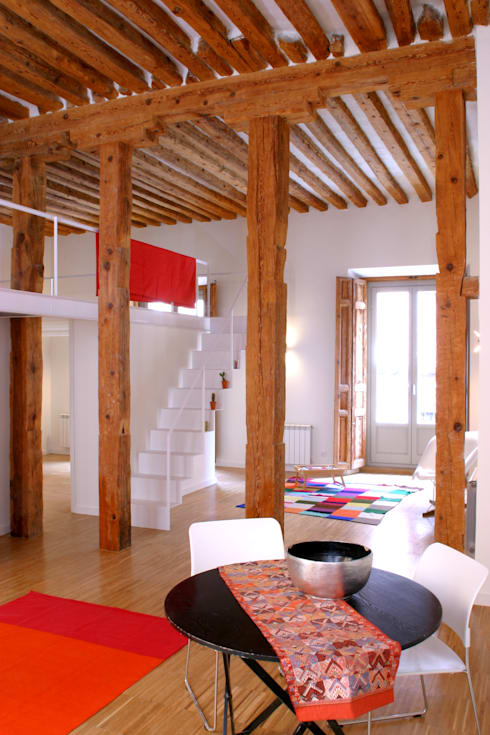 Livings de estilo  por Beriot, Bernardini arquitectos