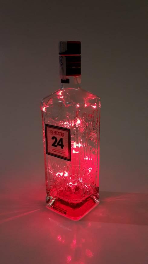 ambiente led flaschen deko von cocktailtumblers | homify - Led Deko Wohnzimmer