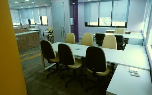 Reunião | Diretoria: Espaços comerciais  por Américo Parlato - Arquitetura