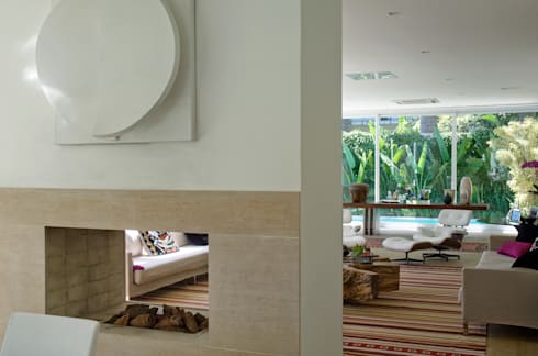 Margarida Galvão: Salas de estar modernas por Rauldipace