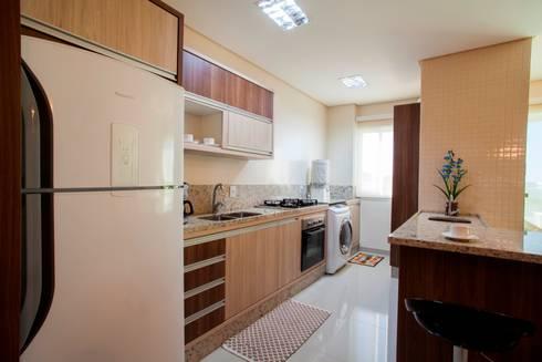 Decoração Interiores: Cozinha  por Janete Krueger Arquitetura e Design