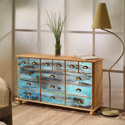 industrial style kommode tisch von berlin art design homify. Black Bedroom Furniture Sets. Home Design Ideas