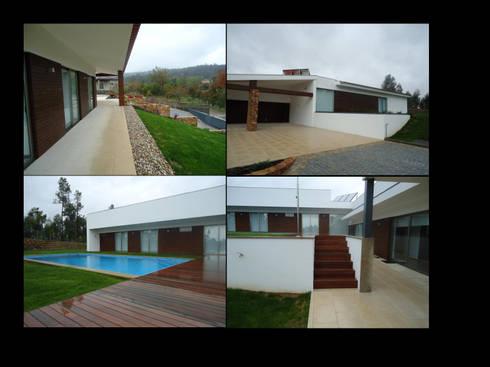 MORADIA VILA VERDE: Casas modernas por MDArquitectos