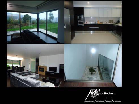 MORADIA VILA VERDE: Salas de estar modernas por MDArquitectos