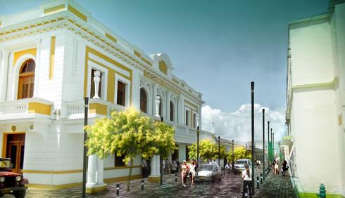 Concurso Centro Histórico de Buga:  de estilo  por Pantoja Arquitectos