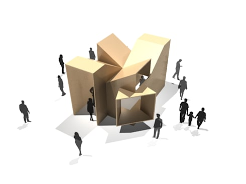 La Cabaña. Pabellón de Arquitectura: Jardines de estilo moderno por Tragaluz Estudio de Arquitectura
