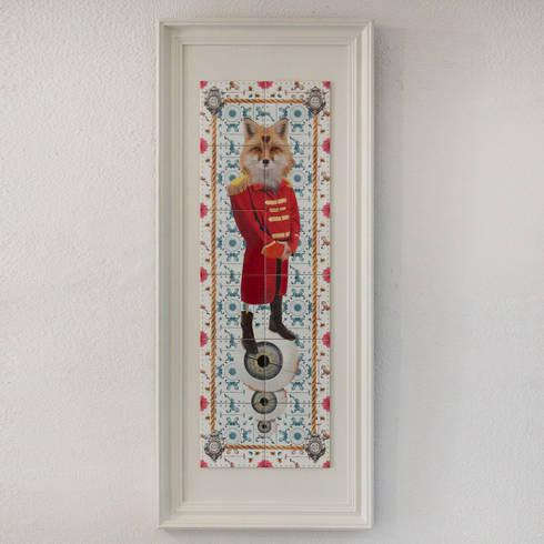 RED FOX: Arte  por Surrealejos