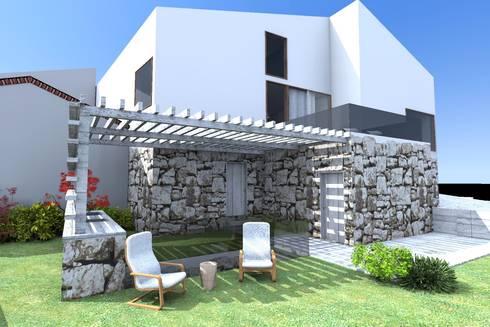Casa ZL: Casas minimalistas por Colectivo de Melhoramentos