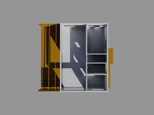 Projetos em LSF - Light Steel Framing.: Lojas e espaços comerciais  por Casas com Estilo - Obras